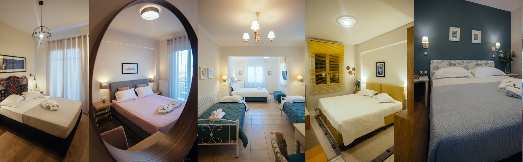 Choice of Hotel Rooms in Nafplio