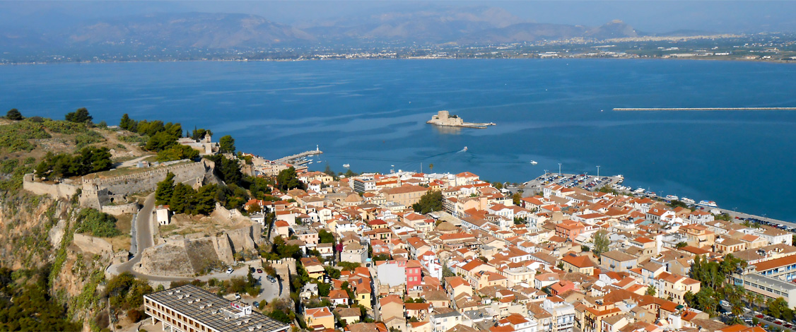 View of Nafplio Harbour